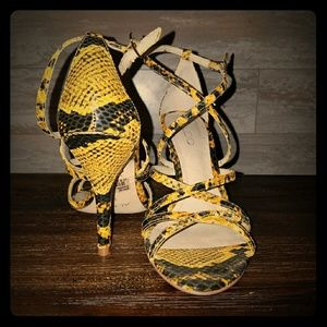 Animal print Aldo sandals